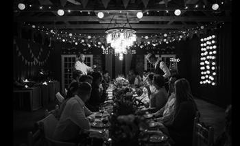 Wedding table at Cpirit Shed