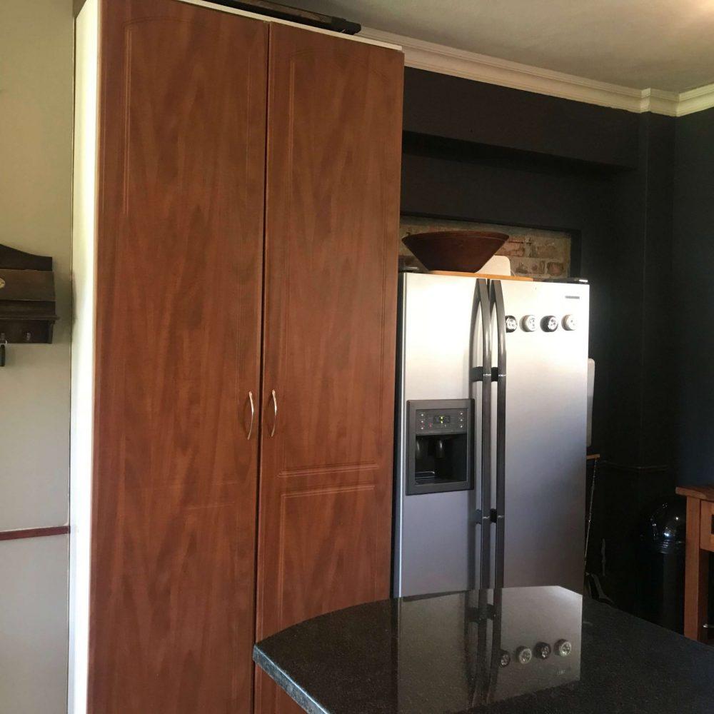 Self cater kitchen fridge